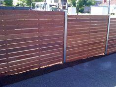 Feature Fencing - Galleries - JND Timber & Steel