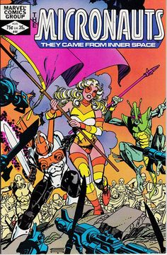 Micronauts 44 August 1982 Issue  Marvel Comics  by ViewObscura