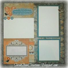 layout by Sarah Stone using CTMH Florentine paper
