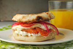 Seattle Sandwich (Lox, Dill Cream Cheese, & A Fried Egg) from @Jen @ Juanita's Cocina