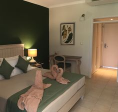 Deluxe Room Pine Green at kassandra Mare Hotel