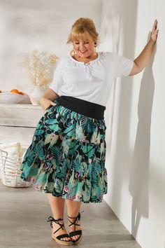 Maite Kelly, Curvy Fashion, Midi Skirt, Rock, Skirts, News, Love, Woman, Nice Asses