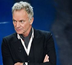 Sanremo 2018 - Day 2 SANREMO, ITALY - FEBRUARY 07: Sting and Shaggy attend the second night of the 68. Sanremo Music Festival on February 7, 2018 in Sanremo, Italy. (Photo by Venturelli/WireImage)