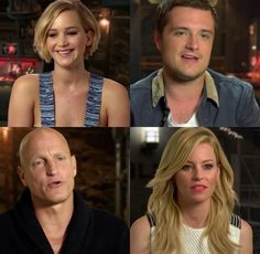 INTERVIEWS TIME!!!!! There was going to be an interview with Jen, josh, and liam today, but josh is sick so he's not there :'(
