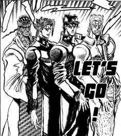 Image result for the stardust crusaders manga