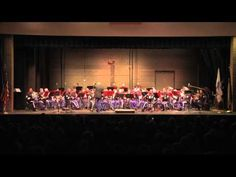 The West Point Band plays Washing Post by Sousa