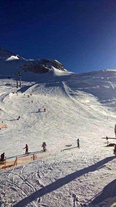 Skiurlaub im Zillertal, Hintertuxer Gletscher • Mami rocks ist Skifahren