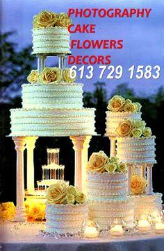 Budget Wedding, Ottawa, Flower Decorations, Weddings, Cake, Flowers, Photography, Pie Cake, Wedding