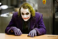 Capture this memorable moment from Christopher Nolan's The Dark Knight movie when The Joker (played by the late Heath Ledger) introduces himself to Gotham's finest but frustrated thugs as The Man With Der Joker, Heath Ledger Joker, Joker Art, Joker Batman, Harley Quinn Cosplay, Joker And Harley Quinn, Christopher Nolan, Perth, Joker Photos