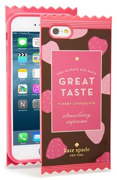 Free shipping and returns on kate spade new york 'great taste' iPhone 6 & 6s case at Nordstrom.com. You've got great taste—show it off with kate spade's hard-shell phone case that will keep your tech safe from scuffs and scratches.