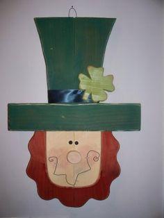 Leprechaun Door Hanger, St. Patrick's Day Crafts