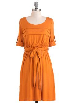I'm obsessed with this color!    Solid Bold Dress, #ModCloth