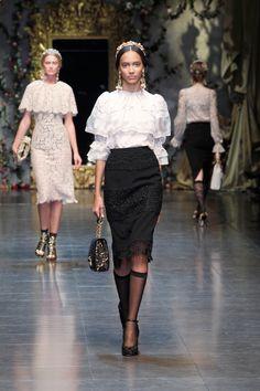 Dolce & Gabbana Sfilata Collezione Autunno Inverno 2012-2013