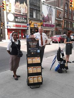 Toronto Canada - Public sharing the Good News of God's Kingdom on Earth as in Heaven - More @ JW.org