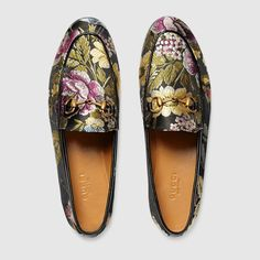 Gucci Women - Gucci Jordaan graphic jacquard loafer - 431467K16501864