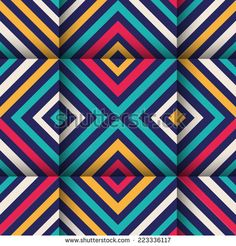 Geometric Colorful Optic Illusion Stock Photos, Images, & Pictures | Shutterstock