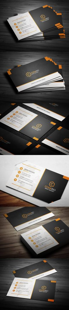Modern Creative Business Cards. Creative Business Card Templates