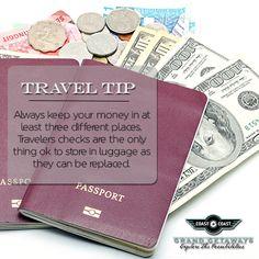 #FakinoTips - Guarda tu dinero en tres lugares diferentes.