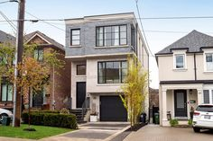 It's our House of the Week Huge Houses, Little Houses, Bedford Park, Toronto Neighbourhoods, Minimalist Layout, Toronto Condo, Through The Roof, Forest Hill, Storey Homes