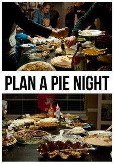 Plan a Pie Night