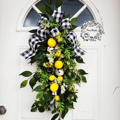 Lemon Wreaths for Front Door Lemon Swag Summer Wreaths Farmhouse Wreaths Etsy Swags for Front Door Citrus Wreath Lemon Decor Round Year Swag Summer Wreath, Summer Swag, Picture Wreath, Poppy Wreath, Lemon Wreath, Outdoor Wreaths, Welcome Wreath, Easter Wreaths, Wreaths For Front Door