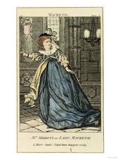 Giclee Print: Sarah Siddons as Lady Macbeth, Century : Lady Macbeth, Theatre Costumes, Fine Art Prints, Canvas Prints, Queen, Art Reproductions, Find Art, Gifts In A Mug, Poster Size Prints