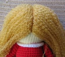 How to make beautiful hair. Part ~ Amigurumi crochet patterns ~ K and J Dolls / K and J Publishing 1 of 3 Amigurumi Tutorial, Crochet Amigurumi, Doll Tutorial, Amigurumi Doll, Amigurumi Patterns, Crochet Dolls, Doll Patterns, Crochet Patterns, Barbie