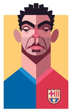 Playmakers: 25 ilustraciones de los más grandes jugadores de la historia del fútbol por Daniel Nyari   FURIAMAG   Visibilizamos - Inspiramos - Conectamos