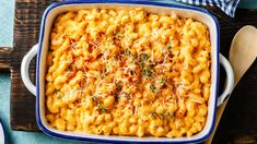 Ina Garten's Overnight Mac & Cheese Recipe Couldn't Be Easier – SheKnows Delicious Macaroni And Cheese Recipe, Crockpot Mac And Cheese, Cheesy Mac And Cheese, Creamy Macaroni And Cheese, Making Mac And Cheese, Mac Cheese Recipes, Mac And Cheese Homemade, Gourmet Mac And Cheese, Ina Garten Mac And Cheese