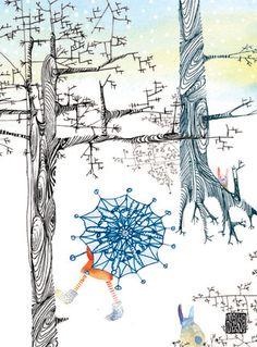 Masha D'yans winter trees