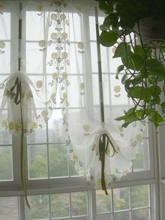 french country floral rose red pull up balloon shade austrian cotton