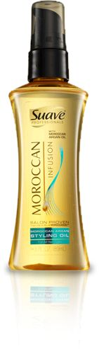 Suave Professional Moroccan Infusion Styling Oil