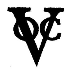 VOC (Dutch East India Company) - the world's first multinational and a classic logo.