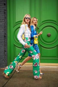 Charting: Spring Pants In Bloom