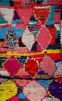 Beautiful pink Boucherouite rug available plz check out instagram @Potofrugs Handmade .