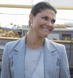 Princess Victoria attended a seminar on the Baltic Sea, which was held in Stockholm.