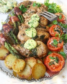 Couer de filét chicken Food In French, Cooking Recipes, Healthy Recipes, Party Food And Drinks, Filets, Thanksgiving Recipes, Food Inspiration, Love Food, Carne