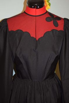 vintage 60s carnegie very cute black dress prom by jampops on Etsy