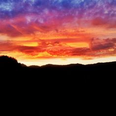 Sunset in Bigues (@gronan photo)