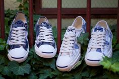 CONVERSE Jack Purcell – Floral.. Must. Have. These...