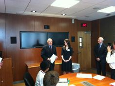 Awarding a scholarship for our new MS in Marketing Intelligence degree