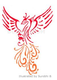 Phoenix- life is striving and challenging, and you are ready to take on any hurdle that life throws at you. Survival: Phoenix is re-born from its ashes, but first it needs to burn. Thus, a phoenix tattoo means that you have undergone a terrible and tiring time, have transformed and overcome the struggle.