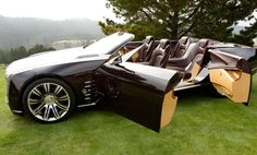 Photographs of the 2012 Cadillac Ciel Concept. An image gallery of the 2012 Cadillac Ciel Concept. Cadillac Cts V, Cadillac Eldorado, Bugatti, Maserati, Ford Motor Company, Supercars, Most Expensive Luxury Cars, Convertible, Hot Rides