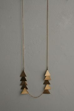 scale necklace / laura lombardi jewelry