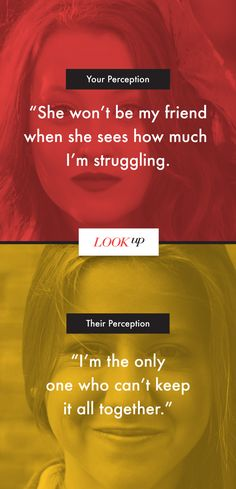 Not all perceptions are reality. When your world feels upside down, we're here to chat. Anonymous. Judgment-free. 24/7. Call 1-800-284-8439 or text LOOKUP to 494949