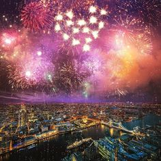 Happy New Year from London News! #London #NYE2015 #LondonNews
