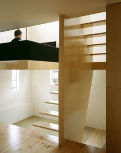 ply mezzanine and stair
