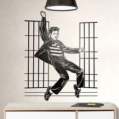 Adesivi Murali: Elvis Presley Jailhouse Rock #cinema #decorazione #deco #StickersMurali