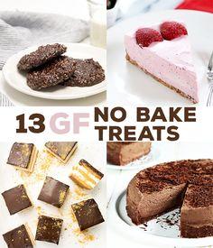13 No Bake Gluten Free Desserts
