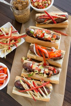 Quick Summer Brat Party